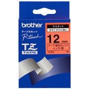 TZ-B31 [黒文字、蛍光オレンジ、12mm]