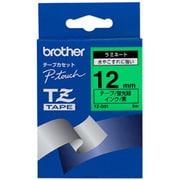 TZ-D31 [黒文字、蛍光緑、12mm]