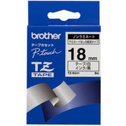 TZ-N241 [黒文字、白のノンラミネートテープ、18mm]