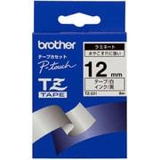 TZ-231 [ラミネートテープ 黒文字、白テープ、12mm]