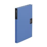 47Wアオ [カードホルダー・カーズ(A4溶着式) A4 タテ型 ヨコ型ポケット 620枚収納 青]