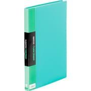 132CWミト クリアーファイル カラーベース W 緑