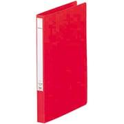 F367-1 パンチレスファイル A4 アカ