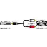 CN-10E オーディオコード [ピンプラグ-ピンプラグ×2 1.5m]