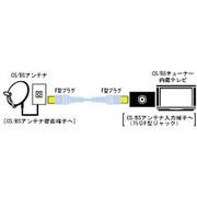 VX-CSL130 CS/BSアンテナコード 3m