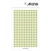 07683 [カラーラベル 緑 丸型 3mmφ 4シート]