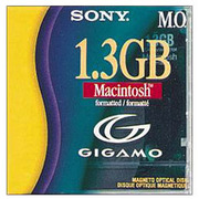 EDM-G13CMF [3.5型MOディスク GIGAMO マッキントッシュ対応フォーマット済]