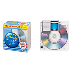 KR640W1X5S [MO 640MB 5枚 Windowsフォーマット]