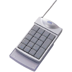 TNK-MUP210SL [USB接続 コンパクトテンキー シルバー]