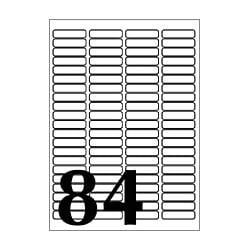 J8756-10 [35mm slide 宛名・表示ラベル A4 84面 10シート]