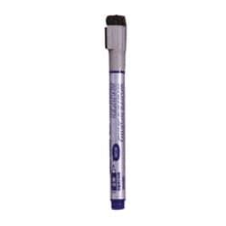 LBM154A [ホワイトボード用 ボードマーカー(直液式)細字・丸芯 1.0mm 青インク]