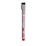 LBM154R [ホワイトボード用 ボードマーカー(直液式)細字・丸芯 1.0mm 赤インク]