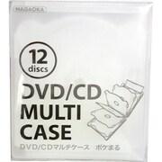 CDM-12CC [CDケース ポケまる 12枚収納 クリア]
