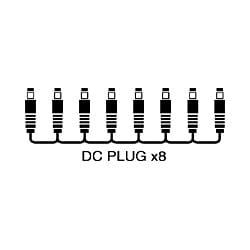 PCS-20A [ACアダプター電源供給用コード DCプラグ 1m]