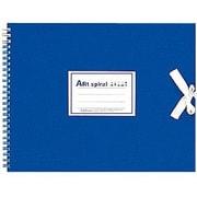 S313-02 F3 スケッチ アートスパイラル ブルー