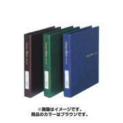 SB-306-08スタンプアルバムデラックス 茶