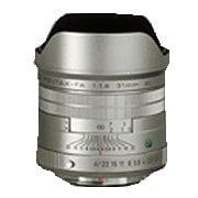 FA31mmF1.8AL Limited [広角レンズ 31mm/F1.8 ペンタックスK シルバー]