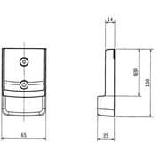 MAC-180RH [エアコン用リモコンホルダー]