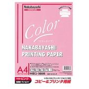 HCP-4101-P [コピー&プリンタ用紙 カラータイプ A4 100枚入 ピンク]