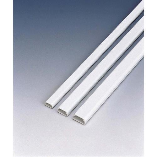 LD-GAF1/WH [フラットモール 1m 幅17mm ホワイト]