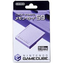 ニンテンドーゲームキューブ用 メモリーカ-ド59 [ニンテンドーゲームキューブ用 メモリ-カ-ド59]