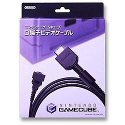 ニンテンドーゲームキューブ専用  D端子ビデオケーブル