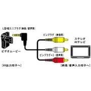 VX-ML20G [ムービー入出力コード 2m]