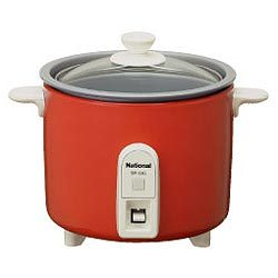 炊飯器(1.5合)SR-03G-R(レッド)ミニクッカー