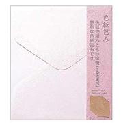 34282021 カラー色紙包み ピンク