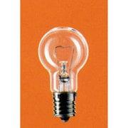 LDS100V54WCK [白熱電球 ミニクリプトン電球 E17口金 100V 60W形(54W) 35mm径 クリア]