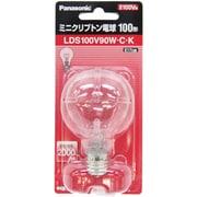 LDS100V90WCK [白熱電球 ミニクリプトン電球 E17口金 100V 100W形(90W) 45mm径 クリア]