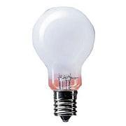 LDS100V54WWK2P [白熱電球 ミニクリプトン電球 E17口金 100V 60W形(54W) 35mm径 ホワイト 2個入り]