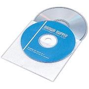 FCD-FW100 [CD/DVD 厚手不織布ケース 2枚収納 100枚入り]