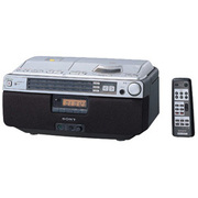 CFD-A100TV-S CDラジオカセットコーダー(シルバー)