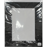 ギャラリーマット 半切/W4 ブラック [ワイド4切 ブラック]