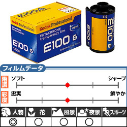 エクタクロームE100G 135-36枚撮 3本パック