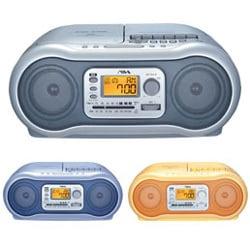 CSD-A300D CDステレオラジオカセットレコーダー(オレンジ)