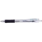 BNH5-BK [タプリクリップ0.4 油性ボールペン 黒インク0.4mm 黒]
