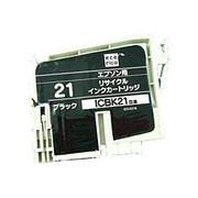ECI-E21B [エプソン ICBK21 互換リサイクルインクカートリッジ ブラック]