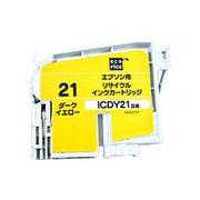 ECI-E21DY [エプソン ICDY21 互換リサイクルインクカートリッジ ダークイエロー]