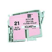 ECI-E21LM [エプソン ICLM21 互換リサイクルインクカートリッジ ライトマゼンタ]