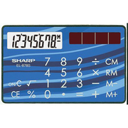 EL-878SX [電卓 カードタイプ 8桁]
