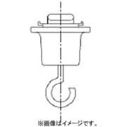 DH8543P [吊りフック 配線ダクト用 白]