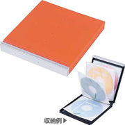 FCD-JK8D [CD/DVDジャケット 8枚収納 オレンジ]
