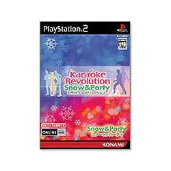 カラオケレボリューション Snow & Party [PS2ソフト]
