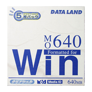 DLMO-640WP5 [MO 640MB 5枚 Windowsフォーマット]