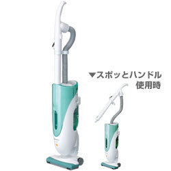 スティッククリーナー(サイクロン方式) MC-U35M-G(クリスタルグリーン) WiLL CLEANER