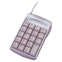 TNK-SUU216SL [3ポートUSBハブ内蔵 USBテンキー シルバー]