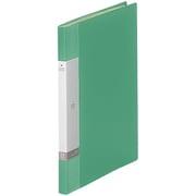 G3201-7 クリヤーブックA4 20P 緑