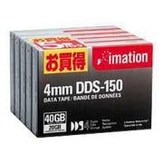 DDS-150×5SP [4mmデータテープ 20GB/40GB お買い得5巻パック]
